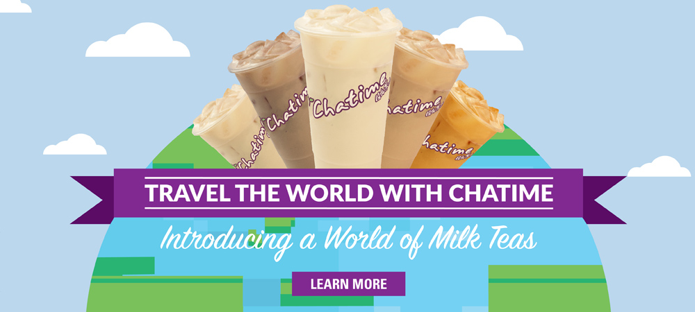 Travel the world with Chatime